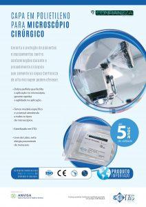 Capa para Microscópio Cirúrgico Universal